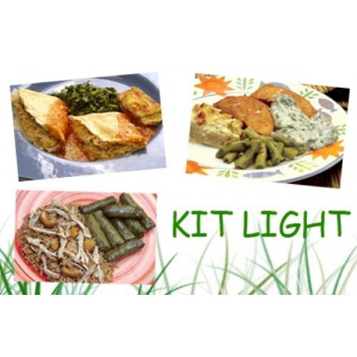 Kit Light (10 pratos balanceados )